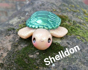 Shelldon The XL Kawaii Sea Turtle