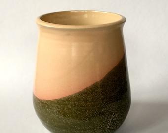 Stoneware Vase/ Utensil Cylinder