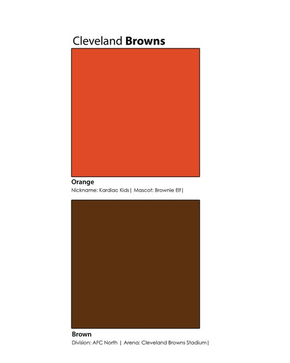 Cleveland Browns Football Man Cave