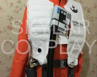 Star Wars Poe dameron cosplay costume