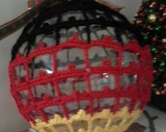 SALE! Crochet Christmas Ornament,Crochet  Christmas Ball,Crochet Christmas Decoration,Crochet Christmas,Crochet Home Decoration
