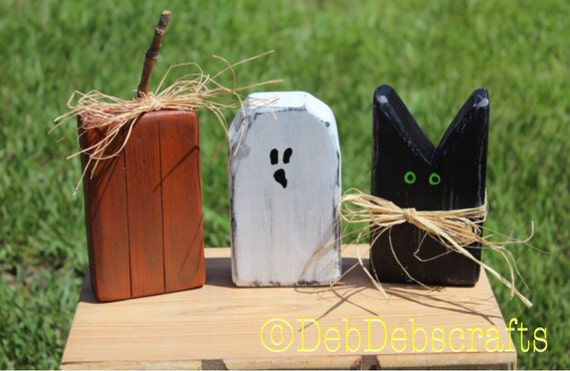 like this item - Wooden Halloween Decorations