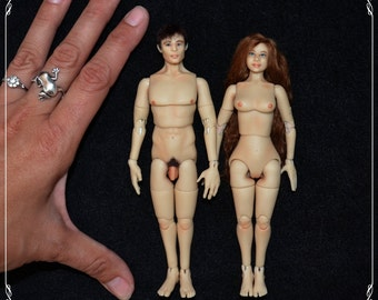 1/12 bjd doll - real proportions - OOAK custom made - COUPLE