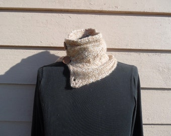 Alpaca Cowl - knitted
