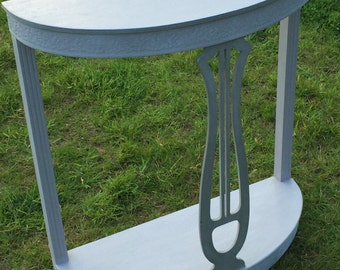 Hand-Painted Console Table