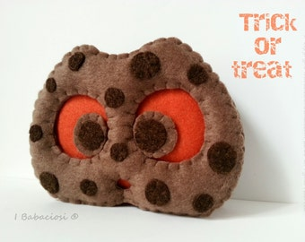 Cookies-pumpkin pillow Jack felt cookie