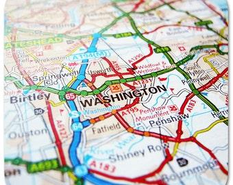Washington Map Coasters