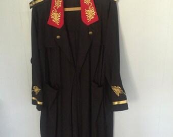 SALE!! Vintage Stellar Rock Dress Coat
