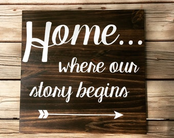 home, where our story begins