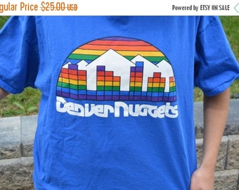 Denver Nuggets Skyline Basketball T-Shirt