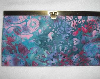 Batik Clutch Wallet