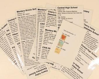 Souvenir: HARRIS Corporation (CO) Title-Cards