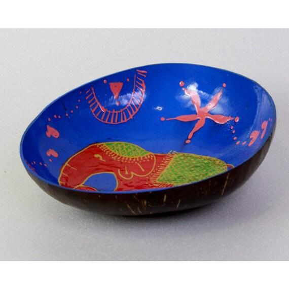 Classic Oriental Decorative Multipurpose Handmade Coconut Shell Handcraft Bowl (PC 22)