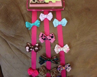 Hair bow holders