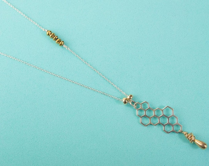 Hive Long Necklace