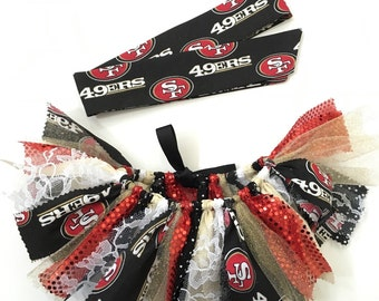 NFL San Fransisco 49ers Tutu & Headwrap