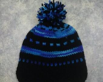 fair isle knit hat