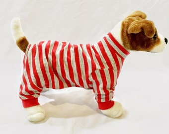 Lulu's French Terry Dog Pajamas - Handmade Dog Clothes, Dog Clothing, Dog Apparel