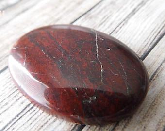 Mahogany Agate Oval Stone Cabochon, Oval Cabochons
