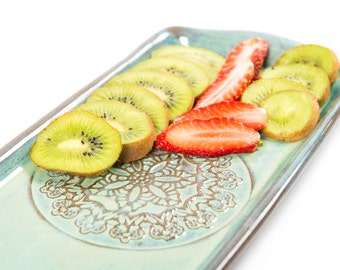 English cake ceramic tray, Holidays gift