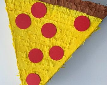 PIZZA SLICE Papier-Mâché PIÑATA || Pizza Parties | Birthdays | Slumber Parties