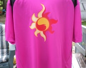 Sunset Shimmer Cutie Mark Athletic Jersey
