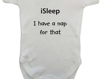 There's a nap for that Baby Boys or Girls Bodysuit Fun Cute