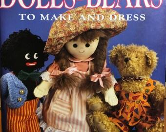 Dolls and Bears women's weekly Golliwog, jolly swagman, barbie wedding dress, barbie clothes,