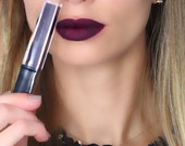 DARK SIDE: Dark Purple Matte Liquid Lipstick