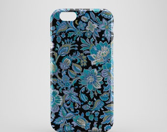 Abstract Floral Phone case,  iPhone X Case, iPhone 8 case,  iPhone 6s,  iPhone 7 Plus, IPhone SE, Galaxy S8 case, Phone cover, SS133b3