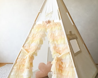 Butterfly teepee for kids