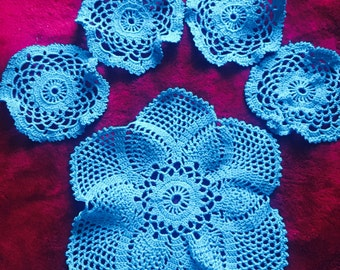 Doily and Coasters Set