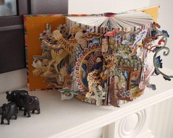 Inspirational Journey of Creativity - A Unique Book Sculpture