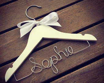 Personalised children hanger -Perfect for Baby showers, christenings and birthdays