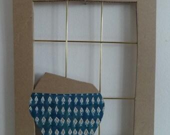 Wall decoration on cardboard - AQUARIUM