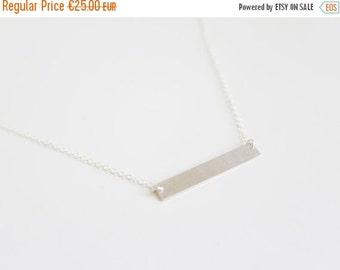 ON SALE HOMETOWN | Necklace 925 sterling silver rectangular bar