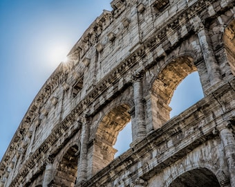 Rome Photography, The Colosseum in Rome, Fine Art Photography, Michael Evans, Summer In Rome