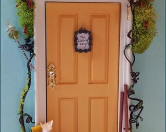Clean pixie elves etsy for Hallmark fairy door