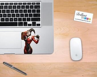 Harley Quinn, Harley Quinn Macbook Decal, Harley Quinn Sticker, Harley Quinn, Harley Quinn Skin, MacBook Pro Decal, Dc  Comics Decal