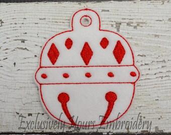 Diamond Bell Christmas Ornament