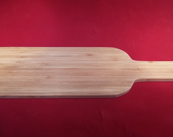 Bamboo Serving Board - Wine Bottle