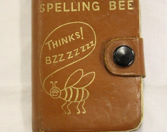 Vintage Spelling Bee Book 'Midget' English Dictionary