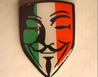 Guy Fawkes Mask Pin (Mexico)