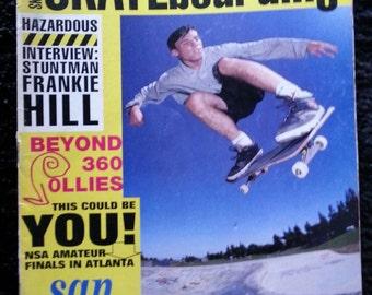 Vintage 1992 Transworld Skateboard Magazine