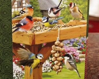 5 Birds on the Bird Stand Card