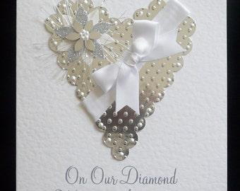 Wedding Anniversary Card Wife/Husband All Anniversarys Personalised