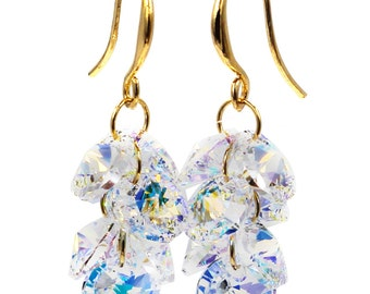 Fashion qualities crystal earrings