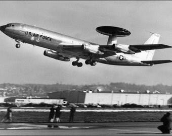 24x36 Poster . Boeing E-3 Sentry 1972
