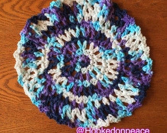 Lacy dish cloth