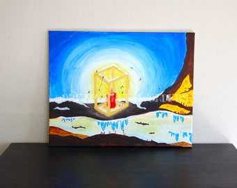 Fairy  Lantern original painting
